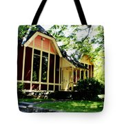 Ladies Library Brewster Ma Tote Bag