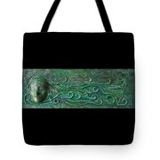 Lady Abstract Wall Sculpture Tote Bag