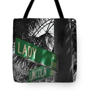 Lady And Lincoln Tote Bag