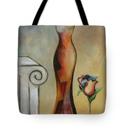 Lady Autunm Tote Bag