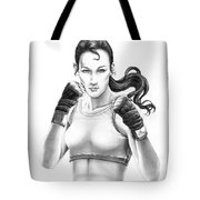 Lady Boxer Tote Bag