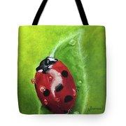 Lady Bug II Tote Bag