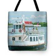 Lady Chadwick Boat - Cabbage Key Island, Florida Tote Bag