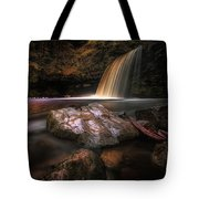 Lady Falls Waterfall Country Tote Bag
