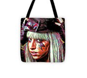 Lady Gaga Tote Bag