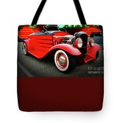 Pow Wow Lady In Red Tote Bag