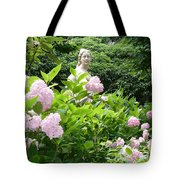 Lady In Salzburg Garden Tote Bag