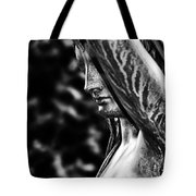 Lady In The Garden 1 Tote Bag