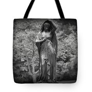 Lady In The Garden 2 Tote Bag