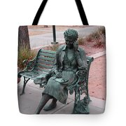 Lady In The Park Tote Bag