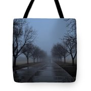 Lady In White Tote Bag