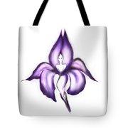Lady Iris Tote Bag