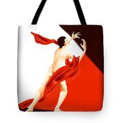 Lady Michiru And The Invisible Man Tote Bag