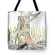 Lady Nature Tote Bag