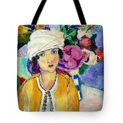 Lady Of Le Piviones Tote Bag