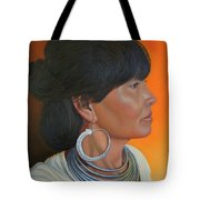 Lady Of Sapa Tote Bag