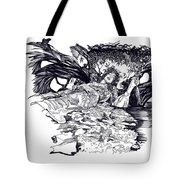Lady Of Shalot Tote Bag