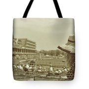 Lady Of The Derby Tote Bag