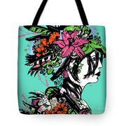 Lady Of The Garden Tote Bag