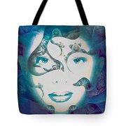 Lady Of The Lake Tote Bag