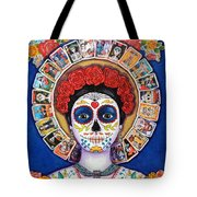 Lady Of The Loteria Tote Bag