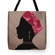 Lady Pink Tote Bag
