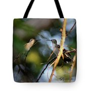 Lady Talk Tote Bag