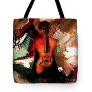 Lady Violin 01 Tote Bag