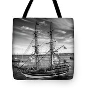 Lady Washington In Black And White Tote Bag