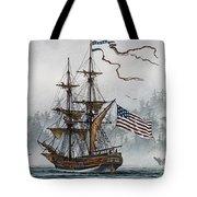 Lady Washington Tote Bag by James Williamson