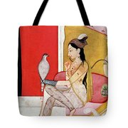 Lady With A Hawk Tote Bag