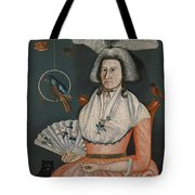 Lady With Her Pets. Molly Wales Fobes Tote Bag