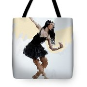 Lady With Wings Tote Bag