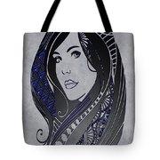 Lady Zen Tote Bag