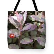 Ladybug Garden Tote Bag