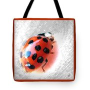Ladybug Spectacular Tote Bag