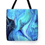 Laeyfe Becomes The Aurora Tote Bag