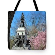 Lafayette Square Named For General Marquis Gilbert De Lafayette Tote Bag