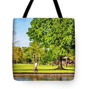 Lafreniere Park 2 - Paint Tote Bag