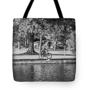 Lafreniere Park 3 - Bw Tote Bag