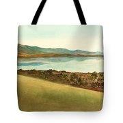 Lago Del Coghinas Tote Bag
