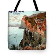 Lago Di Garda Lake Garda Vintage Poster Tote Bag