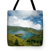 Lagoa Do Fogo Tote Bag