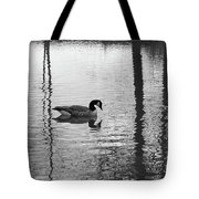 Geese At Evening Light #1 Tote Bag