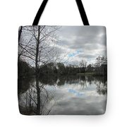 Lagoon Reflections 2 Tote Bag