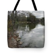 Lagoon Reflections 3 Tote Bag
