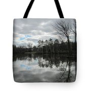 Lagoon Reflections 4 Tote Bag
