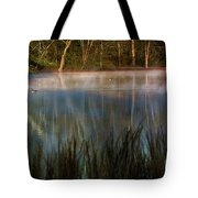 Lagoon Sunrise Tote Bag