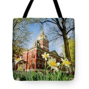 Lagrange County Courthouse Tote Bag