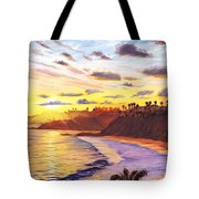 Laguna Village Sunset Tote Bag